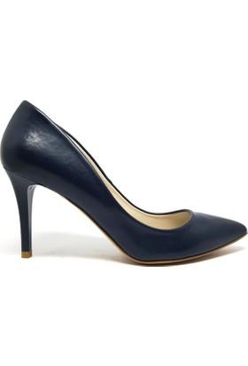 Shop And Shoes 041-8600 Kadın Ayakkabı Lacivert