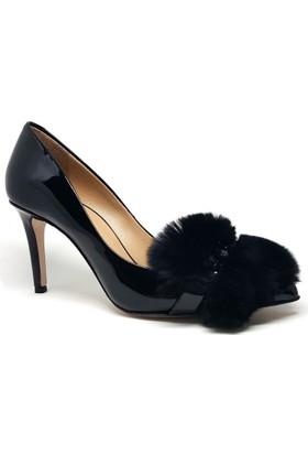 Shop And Shoes 061-429271 Kadın Ayakkabı Siyah Rugan