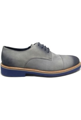 Shop And Shoes 093-2000 Erkek Ayakkabı Gri Nubuk