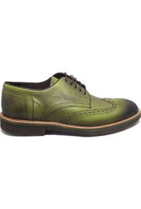 Shop And Shoes 093-2002 Erkek Ayakkabı Yeşil