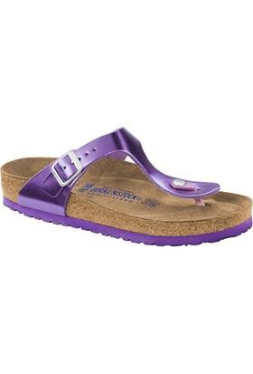 Birkenstock 105-1003484B Gizeh Nl Kadın Sandalet Metallic Violet
