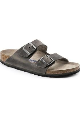 Birkenstock 105-1005212E Arizona Fl Erkek Sandalet Artic Old Iron