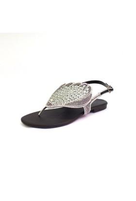 Shop And Shoes 117-316 Kadın Sandalet Siyah