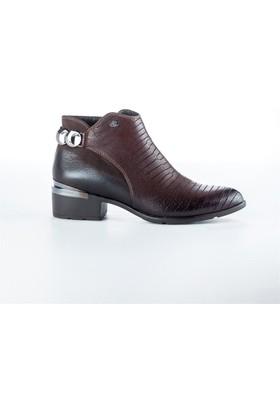 Shop And Shoes 121-6729 Kadın Bot Kahve
