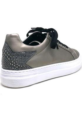 Shop And Shoes 127-052 Kadın Ayakkabı Platin