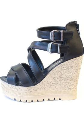 Shop And Shoes 127-567 Kadın Ayakkabı Siyah