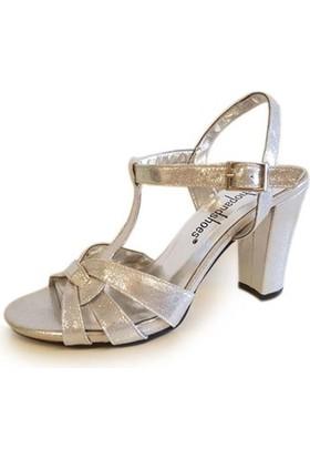 Shop And Shoes 146-6290 Kadın Ayakkabı Gümüş