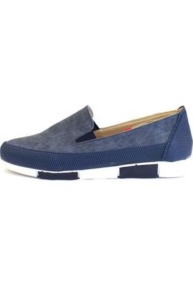Shop And Shoes 155-1453 Kadın Ayakkabı Lacivert