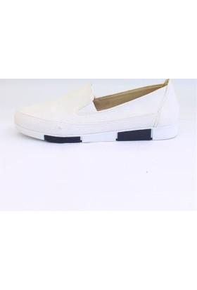 Shop and Shoes 155-5200 Beyaz Kadın Ayakkabı