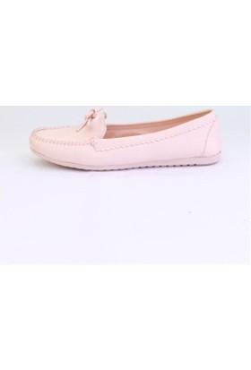 Shop And Shoes 155-2403 Kadın Ayakkabı Pudra