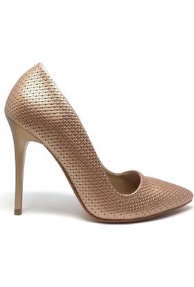 Shop And Shoes 164-250 Kadın Ayakkabı Bakır
