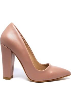 Shop And Shoes 164-260 Kadın Ayakkabı Gül Kurusu