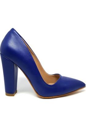Shop And Shoes 164-260 Kadın Ayakkabı Lacivert