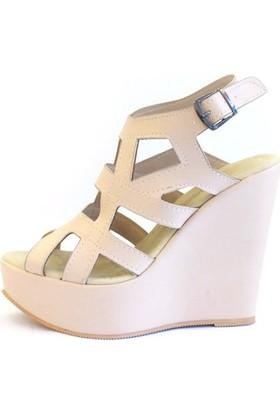 Shop And Shoes 173-17140 Kadın Ayakkabı Ten