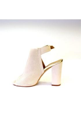 Shop And Shoes 173-20402 Kadın Ayakkabı Bej Süet