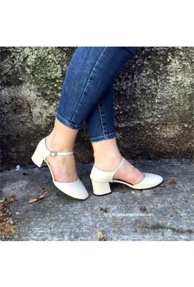 Shop And Shoes 173-8510131 Kadın Ayakkabı Bej