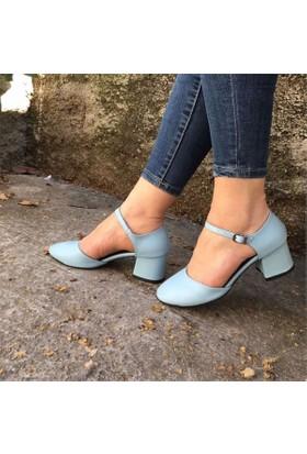 Shop And Shoes 173-8510131 Kadın Ayakkabı Mavi