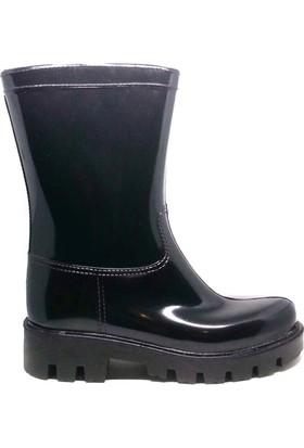 Shop And Shoes 175-504 Kadın Çizme Siyah