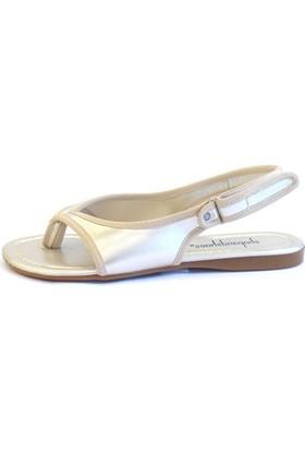 Shop And Shoes 190-079 Kadın Ayakkabı Altın