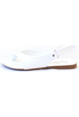 Shop And Shoes 190-079 Kadın Ayakkabı Beyaz