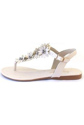 Shop And Shoes 190-081 Kadın Ayakkabı Bej