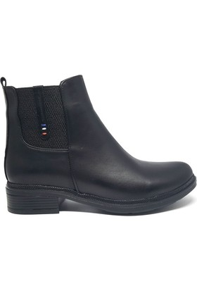 Shop And Shoes 190-454 Kadın Bot Siyah