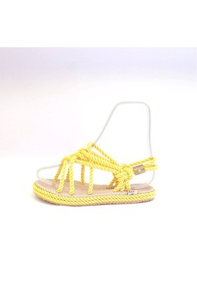 Shop And Shoes 191-1705 Kadın Sandalet Sarı