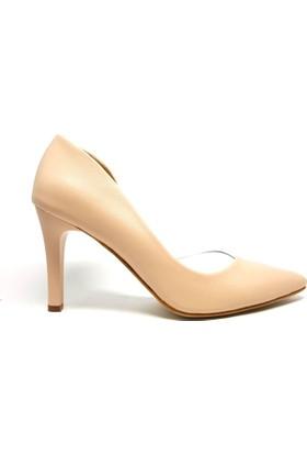 Shop And Shoes 194-85 Kadın Stiletto Bej