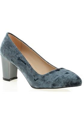 Derigo Bayan Klasik Ayakkabı Gri 28251