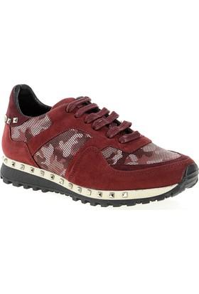 Derigo Bayan Spor Ayakkabı Bordo 272018