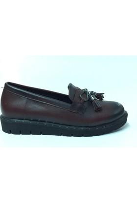 Ritex New Corcik Ayakkabı Yakma Bordo