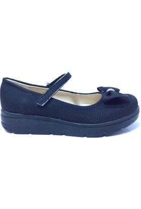 Happy Kurdeleli Çocuk Ayakkabı Siyah