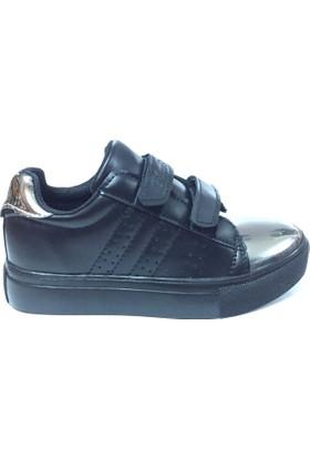Miss Rudy Cırtlı Spor Ayakkabı Siyah