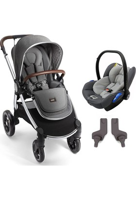 Mamas Papas Ocarro Travel Set Bebek Arabası Grey Twill