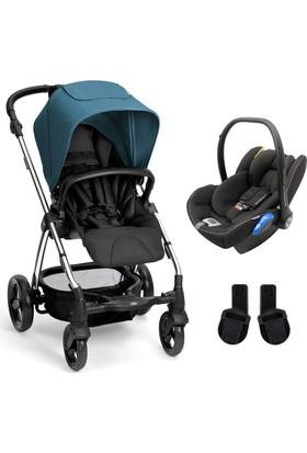 Mamas Papas Sola 2 Tavel Set Bebek Arabası Chrome Petrol Blue