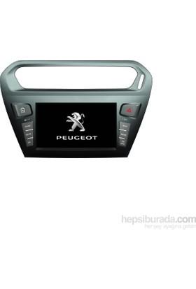 Citroen 301 Multimedya Navigasyon Kamera Bluetooth TElevizyon