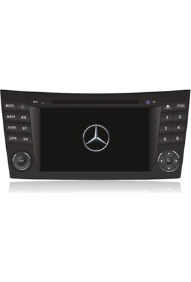 Mercedes E--Class Android Multimedya Navigasyon Kamera Bluetooth