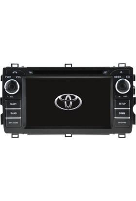 Toyota Rav4 Old Android Multimedya Navigasyon Kamera