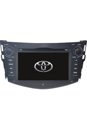 Toyota Rav4 Android Multimedya Navigasyon Kamera Bluetooth