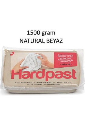 Hardpast Seramik Hamuru Natural Beyaz 1,5Kg