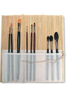 Kosida Bambu Fırçalık 30X30Cm