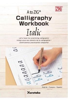Zig Calligraphy Workbook Italic Eğitim Kitapçığı Inwb201-801