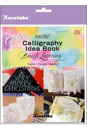 Zig Calligraphy Idea Book Color Eğitim Kitapçığı Intx500-812