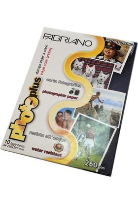 Fabriano Photoplus Fotoğraf Kağıdı 260Gr. A4 10'Lu Paket