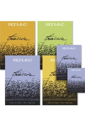 Fabriano Traccia Natural Dokulu, Çizim Defteri, 60Gr., A5 Ebatında