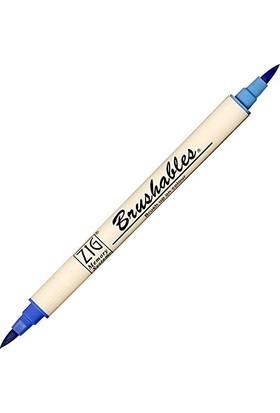 Zig Fırça Uçlu Keçeli Kalem Ms-7700/030 Pure Blue