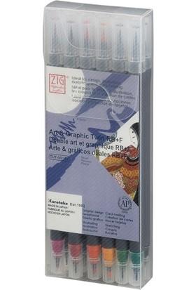 Zig Art Graphic Twin Rb Tut-95/12Vba 4200 12'Li Renklendirme Kalemi