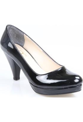 Oc Bayan Rugan Platform Ayakkabı