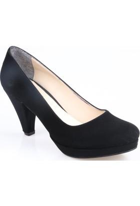 Oc Bayan Süvet Platform Ayakkabı
