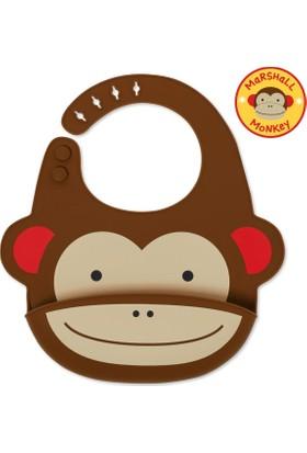 Skip Hop Zoo Silikon Önlük Maymun 232201